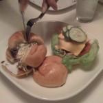 Flip burgers being dismantled